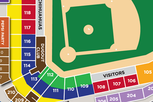 Southwest University Park Map